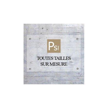 Plaque pro plexi avec logo - format sur mesure